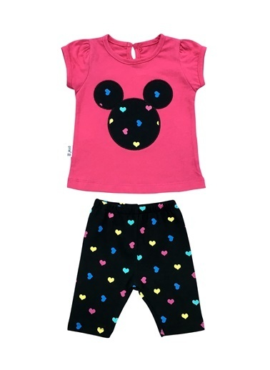 By Leyal For Kids 2 li Takım Pembe